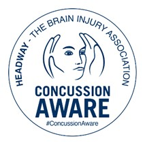 Headway's Be Concussion Aware stamp