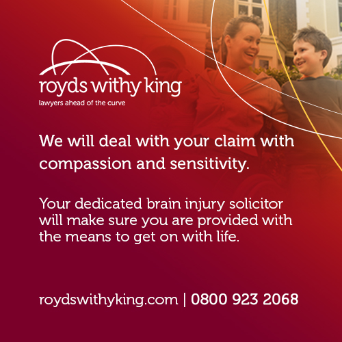 Royds Withy King advert