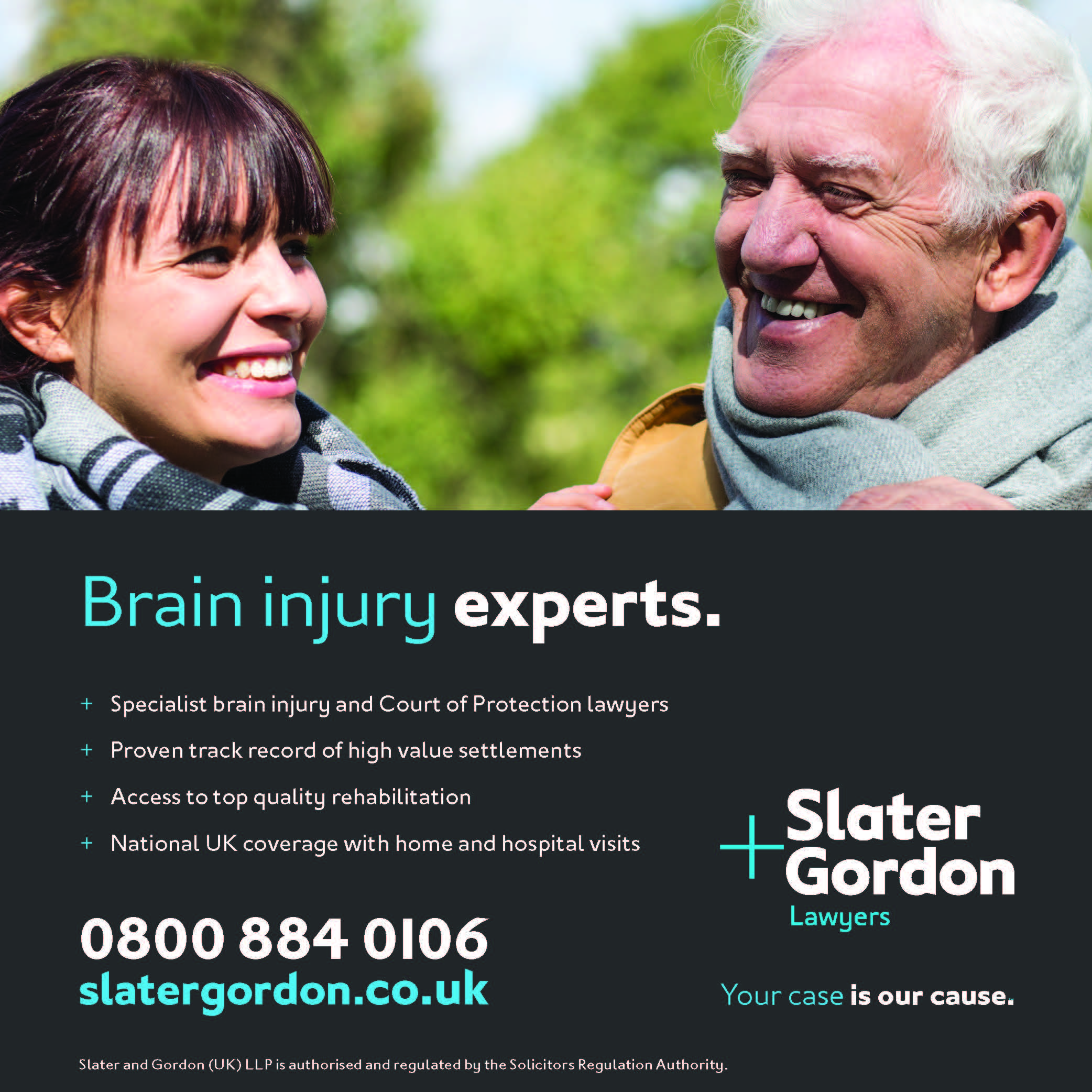 Slater & Gordon advert