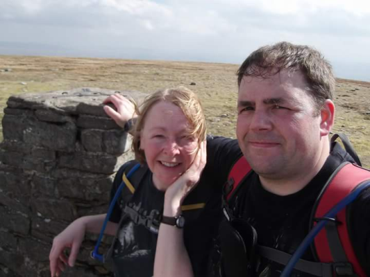 Sue and Alan lived an active life before his accident