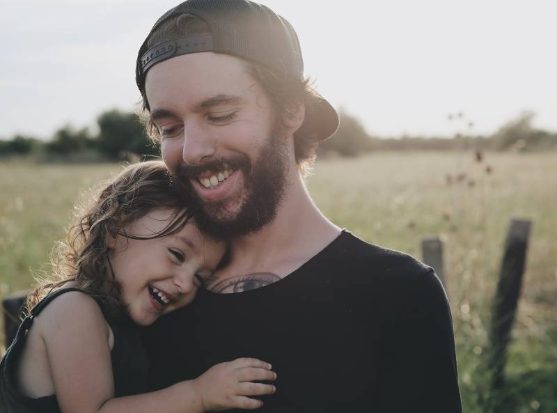 man and his daughter